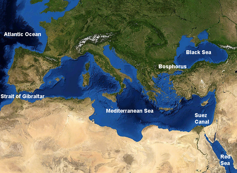 epistimograph The blue waters of the Mediterranean