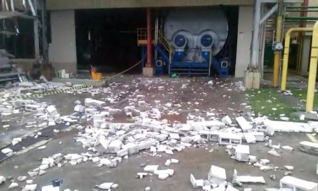 Explosão na caldeiras em cervejaria deixa dois mortos e três feridos em Jacareí