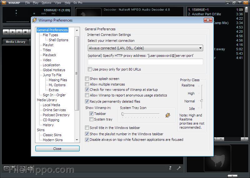 Free Download Winamp 5.03