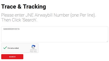 Cara Melacak Kiriman Barang Trace & Tracking JNE