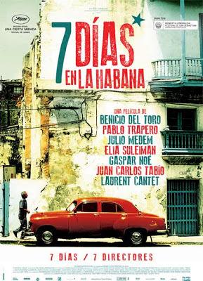 7 días en la Habana - cartel
