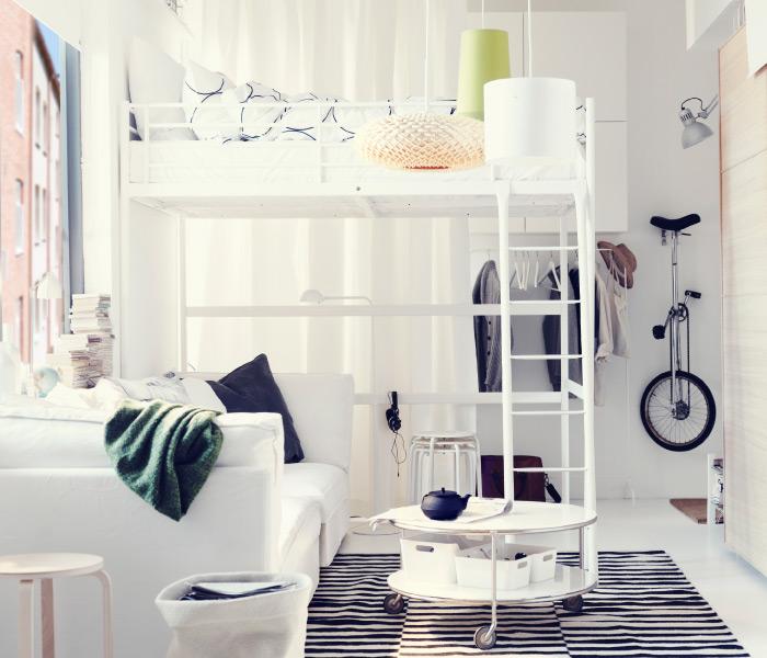 hogar diez dormitorios ikea. Black Bedroom Furniture Sets. Home Design Ideas