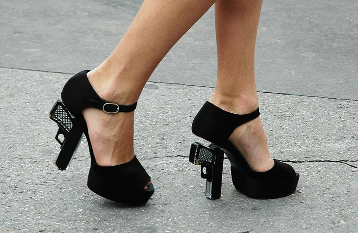 Killer Heels // Chanel Gun Shoes