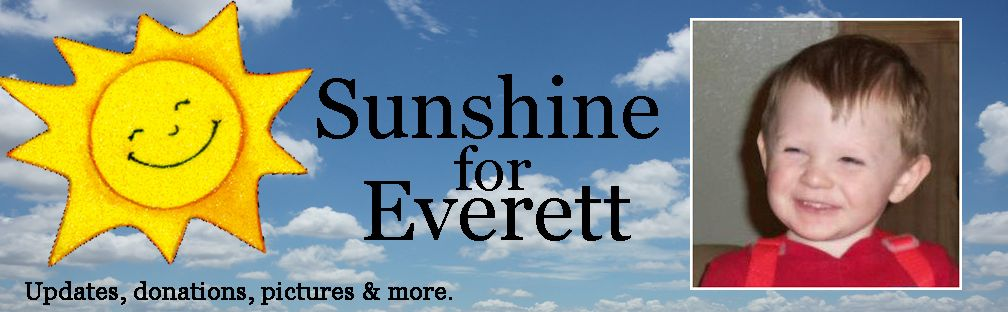 Sunshine For Everett