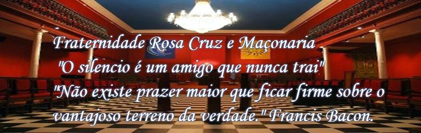 """Fraternidade Rosa Cruz e Maçonaria """"O silencio é um amigo que nunca trai"""""""