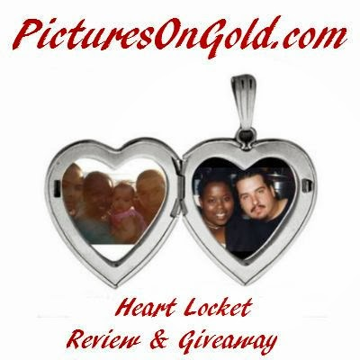 Enter the Pictures On Gold Heart Locket Giveaway. Ends 2/20.