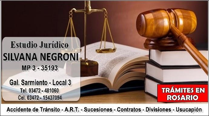 ESPACIO PUBLICITARIO: ESTUDIO JURÍDICO SILVANA NEGRONI