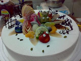 Mummys Cake: Birthday Cake
