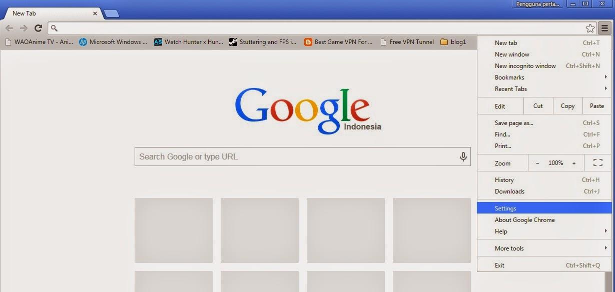 Cara Menembus Internet Positif Pada Google Chrome | SOVIA ...