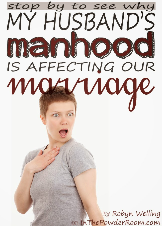 My Husband's Manhood Is Affecting Our Marriage - a funny tale about relationships, sewing, and one man's crotch