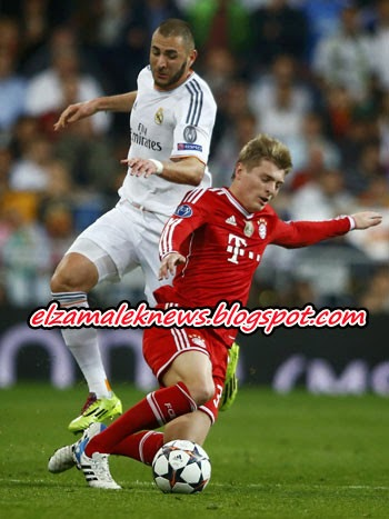 Real Madrid VS Bayer Munech 1-0 Highlights 23.04.2014 HD