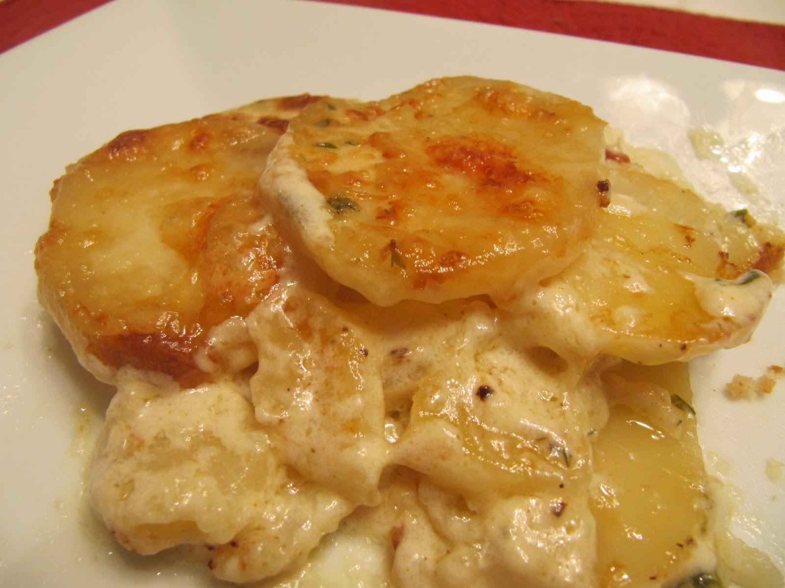 Cookin' in Anne's Kitchen: Anne's Potatoes au Gratin