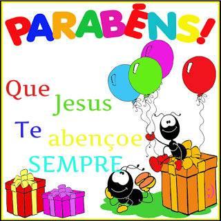 Parabéns Jesus