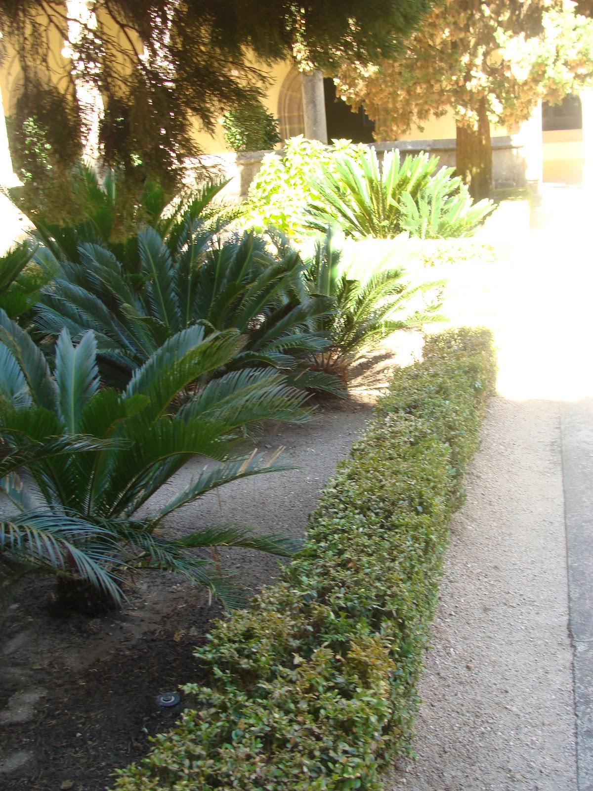 El rincon de un jardin claustro renacentista del for Jardin geometrico