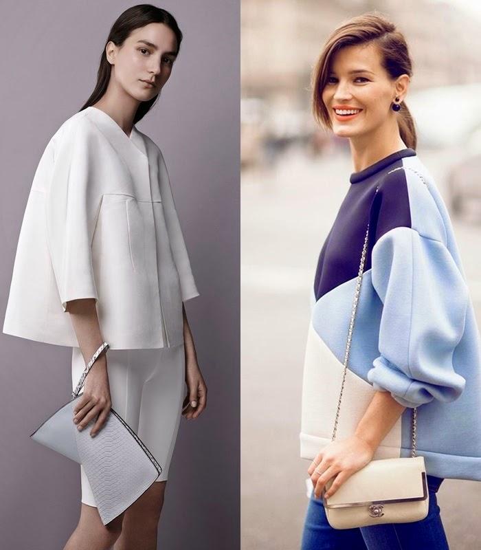 Moda - Neopreno casaco e camisola primavera verão 2015
