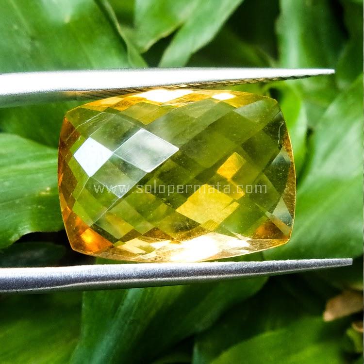 Batu Permata Golden Citrine - SP529