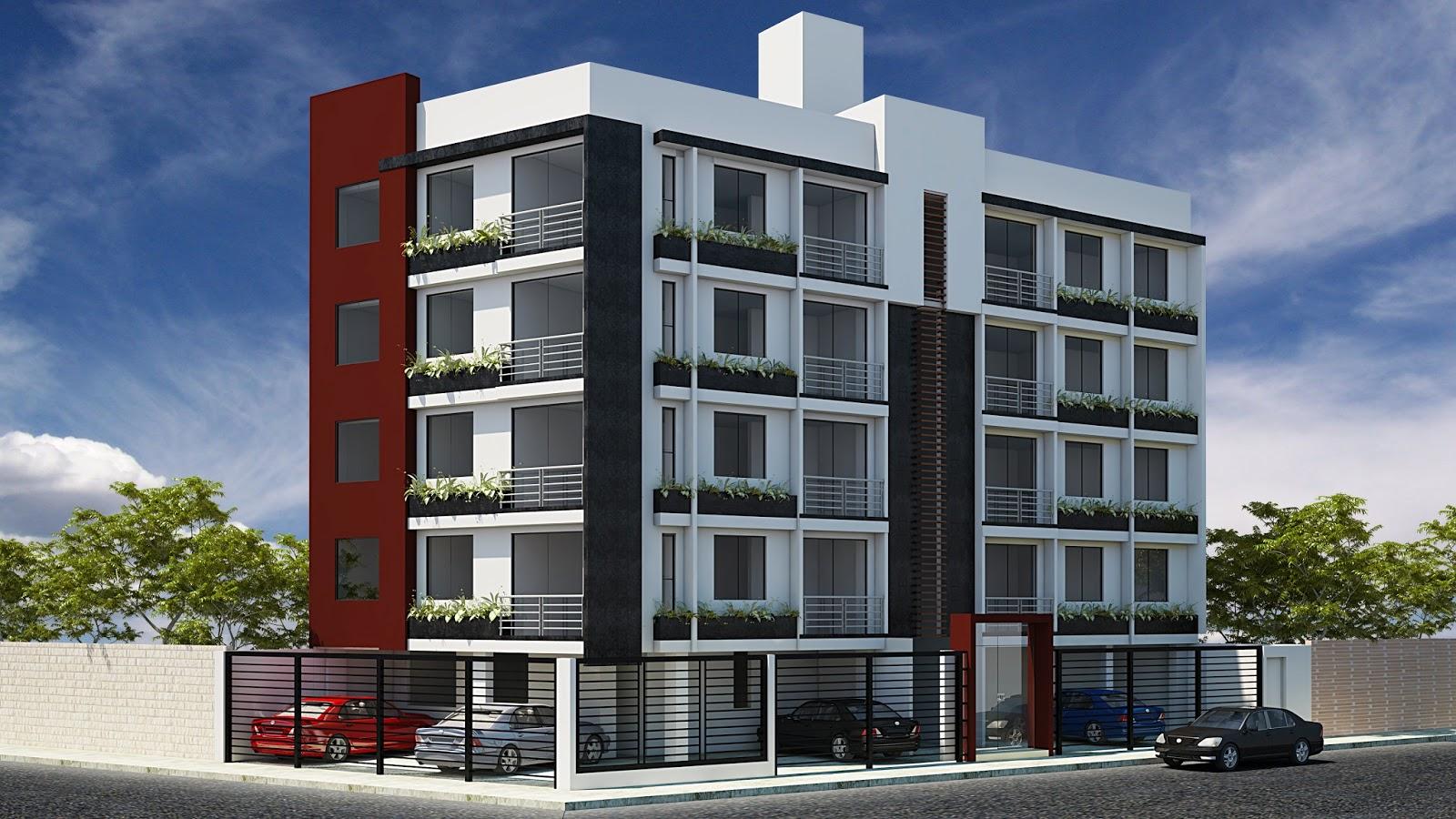 Diego aupari arias arquitectura y 3d multifamiliar for Hotel familiar nunez