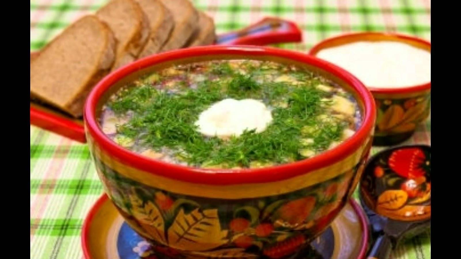 Мордовская окрошка рецепт