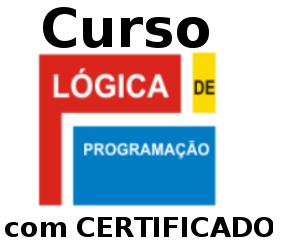 Curso de Lógica de Programação com certificado! Online e completo!