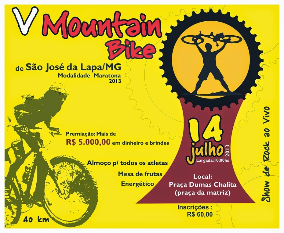 7º Mountain Bike de São José da Lapa 2016