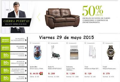 Ofertas tienda virtual saga 29-5-15