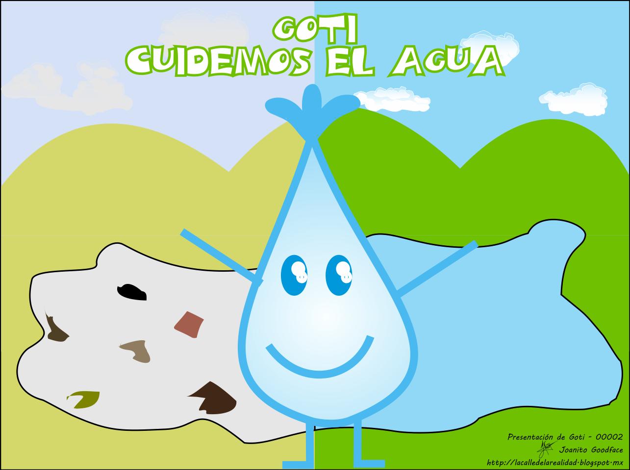 Información sobre como cuidar el agua con dibujos - Imagui