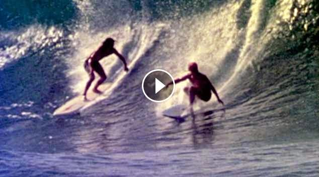 Lopez and Purpus together at last Pipeline 1974