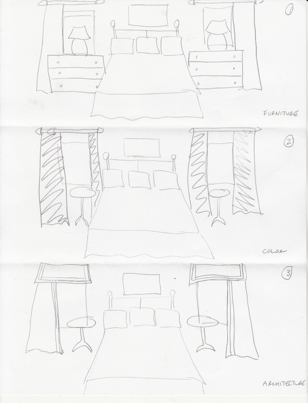 Bedroom Layout Two Dressers