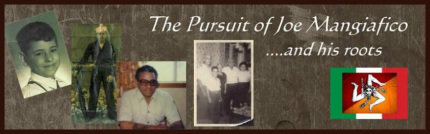 The Pursuit of Joe Mangiafico