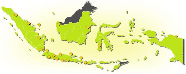 Peta lokasi commonwealth life