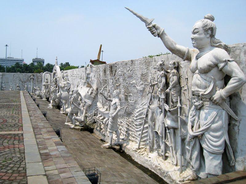 Relief sejarah Bangsa Indonesia