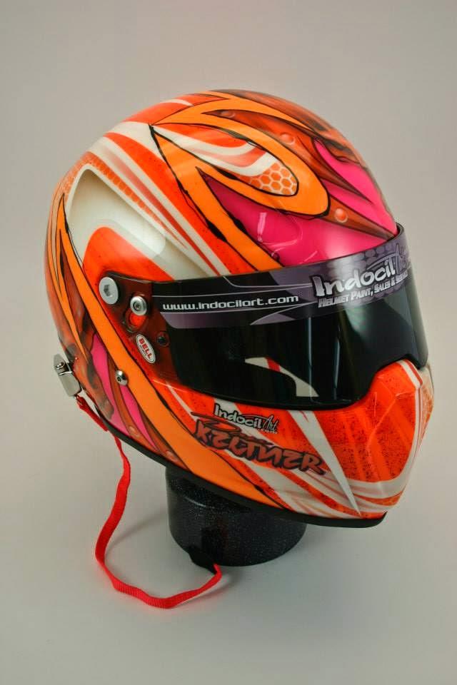 Racing Helmets Garage: Bell Vador D.Keltner 2014 by ...