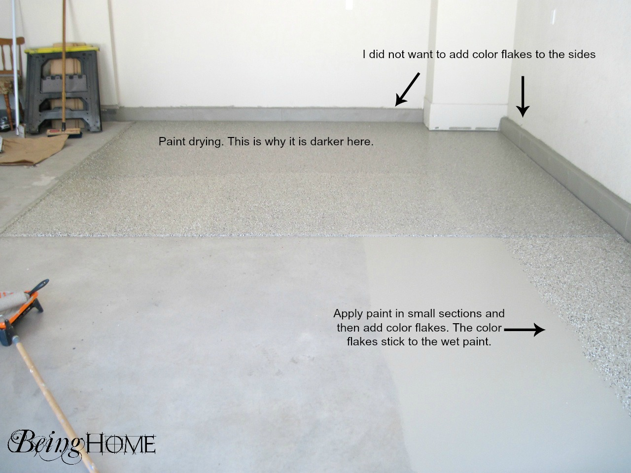 Garage Floor Paint Home Depot Home Painting Ideas