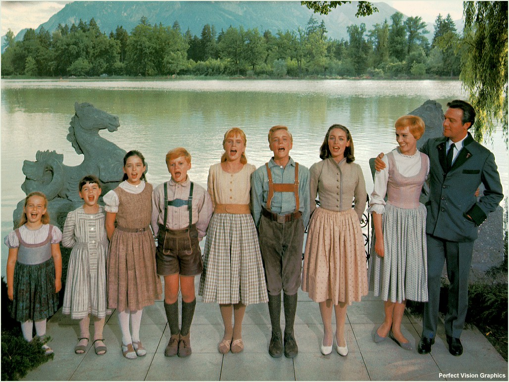 Sound of Music, Von Trapp, Julie Andrews