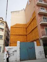 Málaga, solar resultado de demolición de edificio histórico en calle Marqués 9 y calle Moreno Carbonero 1