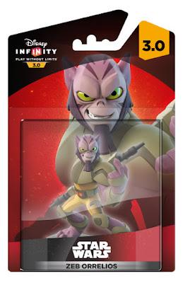 JUGUETES - DISNEY Infinity 3.0  Star Wars Rebels - Zeb Orrelios  Figura - Muñeco - Videojuego  Producto Oficial | A partir de 6 años | Comprar en Amazon