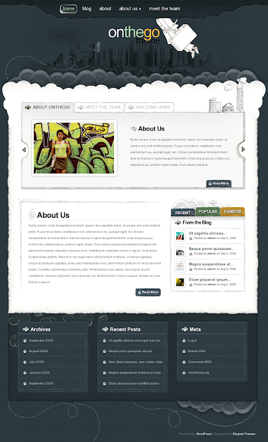 OnTheGo WordPress Theme