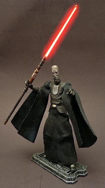 Stronox Custom Figures: Star Wars Darth Plagueis