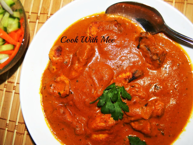 how to make chicken butter masala