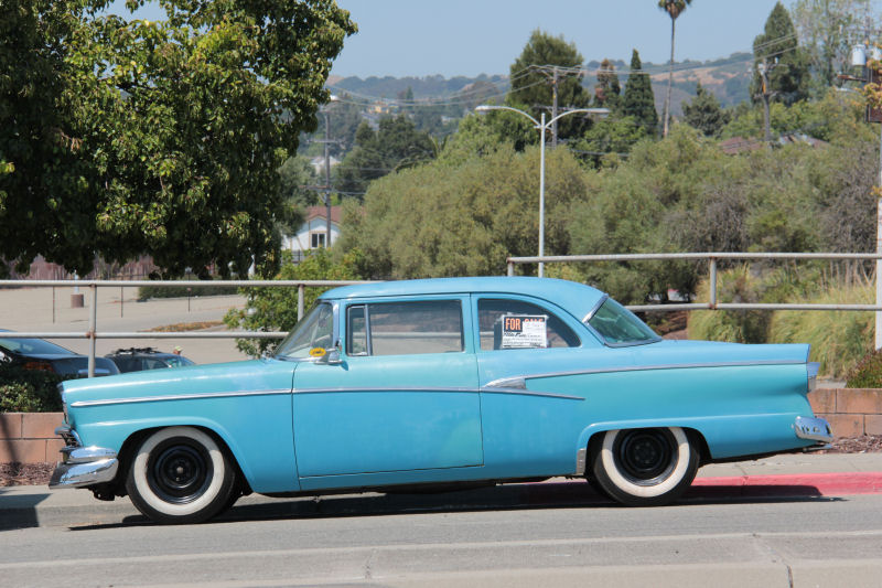 California Streets: Castro Valley Street Sighting - 1956 Ford ...
