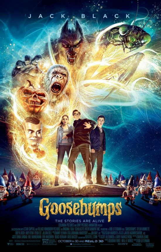 [ภาพ MASTER พร้อมโรง] GOOSEBUMPS (2015) คืนอัศจรรย์ขนหัวลุก [720P] [เสียงไทยโรงชัดแจ๋ว]