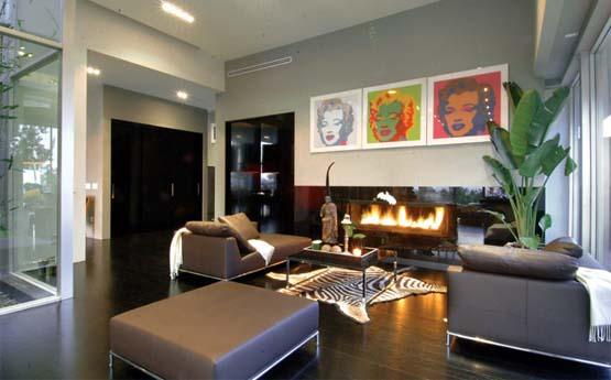 Luxury Living Room Fireplace Design Prime Home Design
