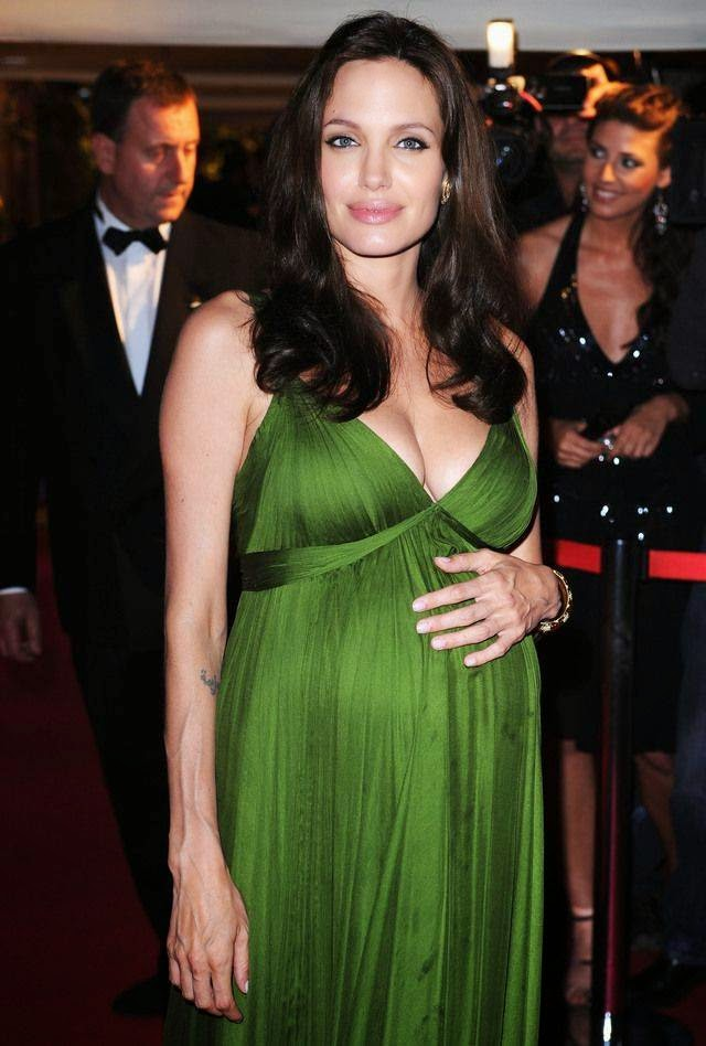Pregnant Angelina Jolie During Pregnancy