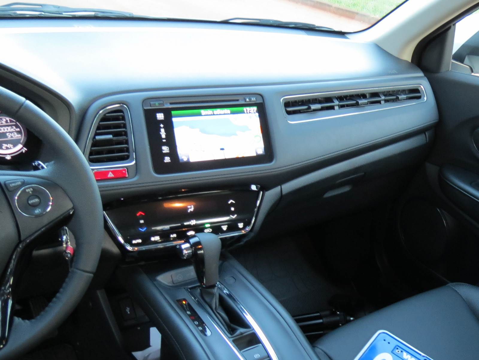 Honda hr v ex l autom tico qual o segredo do sucesso for Honda hr v interieur