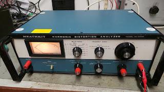 Vintage test gear – Heathkit Harmonic Distortion Analyzer IM-5258