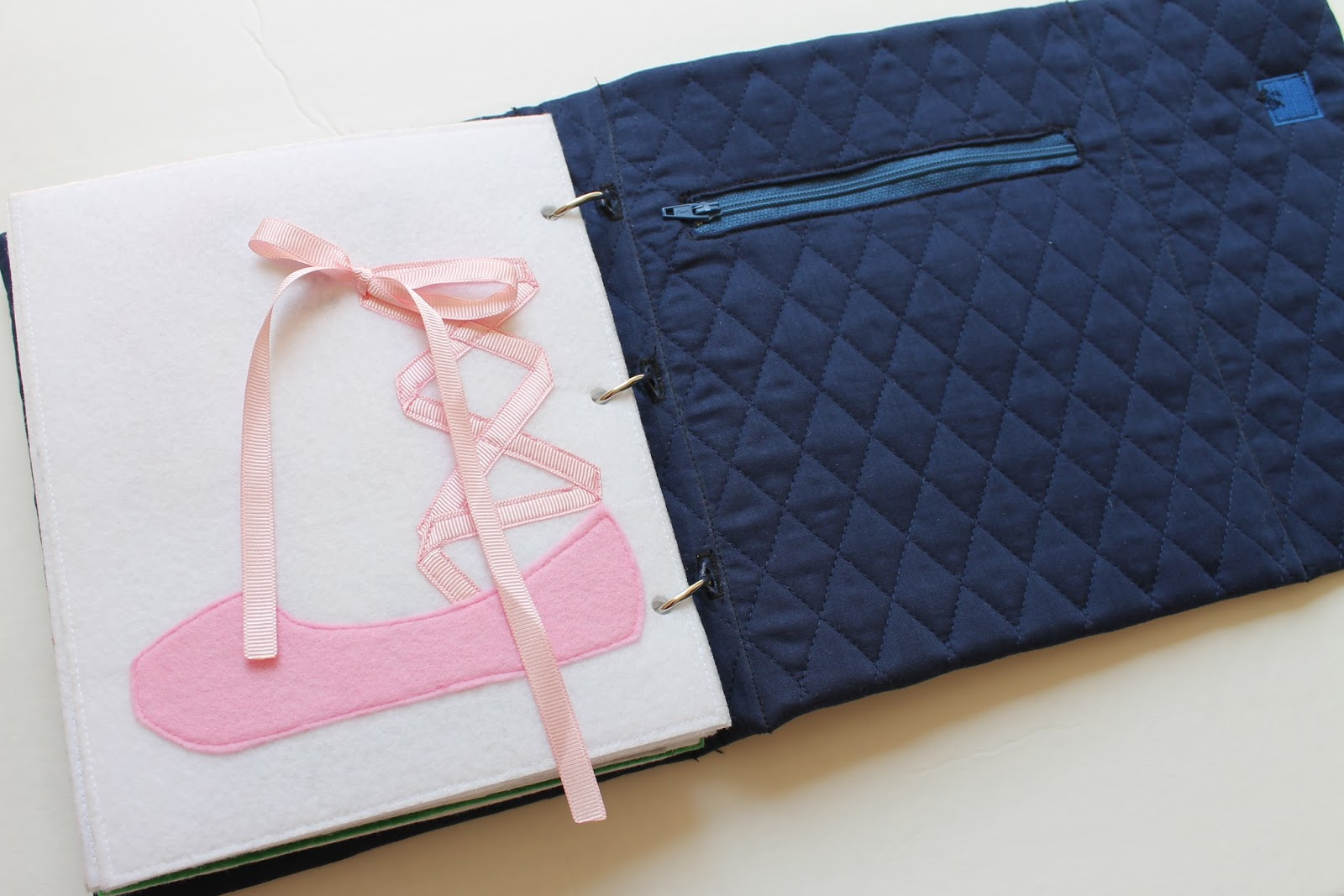 How To Make A Quick Book Cover ~ Serving pink lemonade how to make a fabric quiet book cover