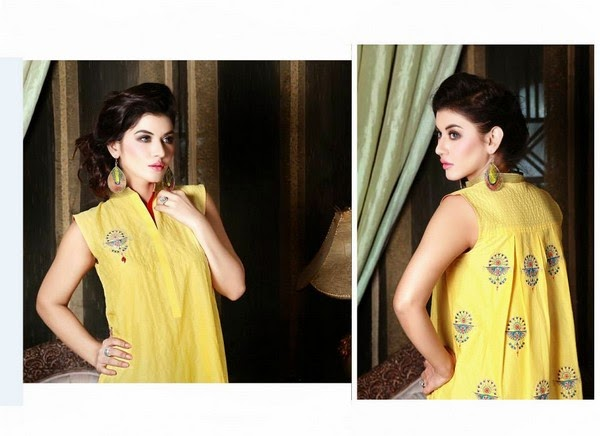 Hadiqa Kiani Pret Dresses For Eid 2014