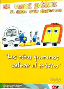 LOS NIÑOS QUEREMOS CALMAR EL TRÁFICO