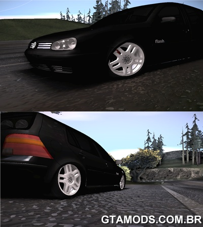 Vw Golf Flash + VR6 17 + FIXA