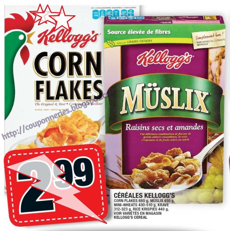 Kelloggs corn flakes coupon